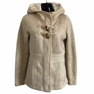 BENCH fleece lined sweater coat, oatmeal  hoodie